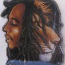 Bob Marley Rasta Jamaican Reggae Concert Album Keychain