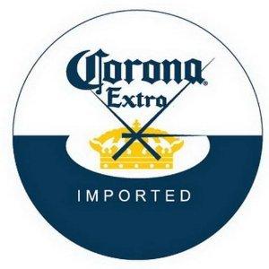 Corona Extra Beer Cerveza Glass Bar Pub Sign Wall Clock