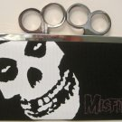 Misfits Punk Concert Brass Knuckle Duster Clutch Wallet