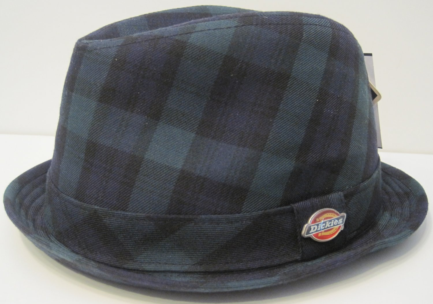 Dickies WorkWear Clothes Flannel Plaid Fedora Hat S/M