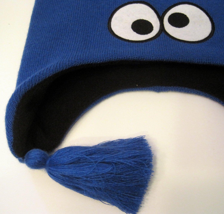 Sesame Street Cookie Monster Laplander Winter Hat Cap