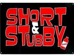 Red Stripe Jamaican Beer Bottle Short Stubby Bar Sign