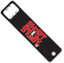 Red Stripe Jamaican Short Stubby Beer Bar Bottle Opener