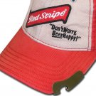 Red Stripe Jamaican Beer Bottle Opener Baseball Cap Hat