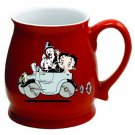 Sexy Betty Boop Red Glass Coffee Tea Soup Mug Cup New