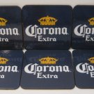 Corona Extra Beer Glass Bottle Drink Table Coaster Mat Set