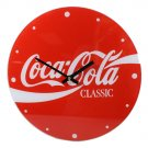 Retro Coca Cola Classic Soda Pop Bottle Glass Clock New
