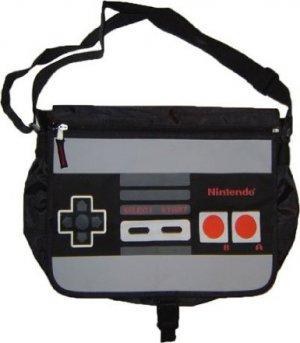 Nintendo NES DS Wii Game Messenger Back Pack Book Bag
