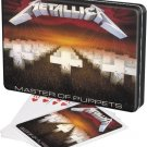 Metallica Rock Band Concert Master of Puppets Poker Playing Cards 2 Decks