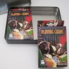 Coolidge Dogs Playing Poker Art Painting 2 Card Decks Tin