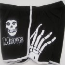 Misfits Rock Band Concert Hot Sexy Cheeky Booty Shorts Medium