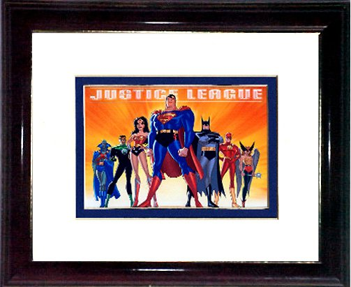 The Justice League #A639