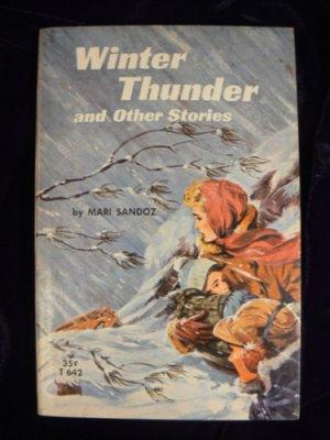 VTG PB Winter Thunder Mari Sandoz Scholastic T642