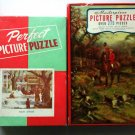 Lot 2 Vintage Puzzles Masterpiece & Perfect 275 Pieces
