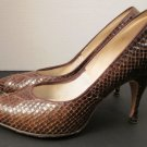Vintage 60's Genuine Cobra Snakeskin Stiletto Heels