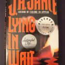 Lying in Wait by JA Jance 1994 HBDJ 1st Ed. Signed