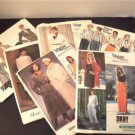 Lot Six VTG Vogue Patterns Basic & Designers DKNY ADRI