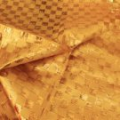 Sparkly & Muted Gold Basket Weave Fabric 2+ Yards