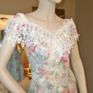 VTG Jessica McClintock Bridal Dress Lace Floral  NWT