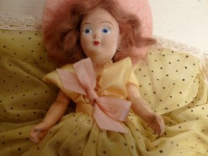 Vintage Ar-Doll Creation Miss Victoria in Original #84 Nurse Doll Box