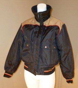 Vintage Maxim Wear Yamaha Motorcycle Jacket Ladies L Reg