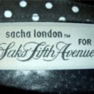 Vintage 80's B&W Polka Dot Designer Sacha London for Saks Fifth Avenue Pumps