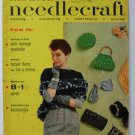 VTG Modern Needlecraft  Magazine Fall 1954 Knitting Crocheting Embroidery Sewing