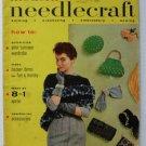 VTG Modern Needlecraft Magazine Fall 1954 Knitting Crocheting Embroidery Sewing