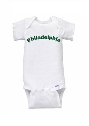 Philadelphia Short Sleeve Onesie