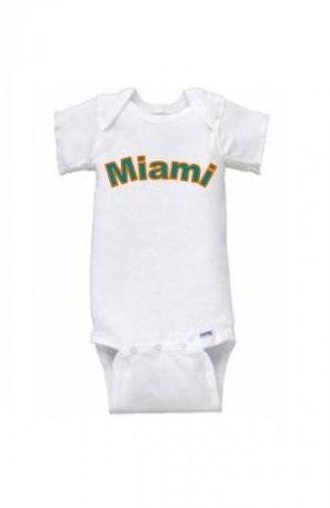 Miami Short Sleeve Onesie