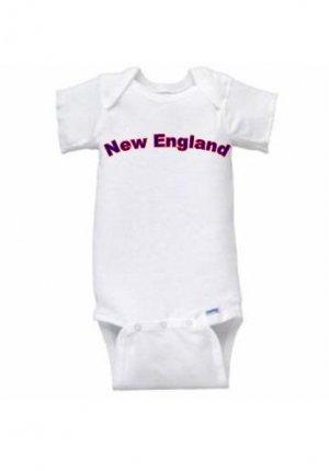 New England Short Sleeve Onesie