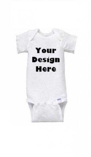 Custom Graphic Short Sleeve Onesie