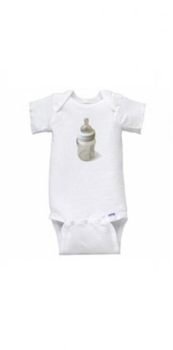 Bottle Short Sleeve Onesie
