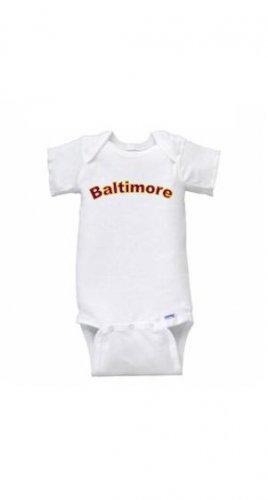 Baltimore Short Sleeve Onesie