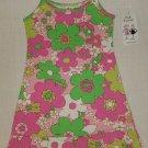 ANITA G Girls Size 4 Pink Sundress w/ Flowers, NEW