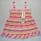 JUMPING BEANS Girl's 18 Months Babydoll  Halter Top, Flamingos, NEW