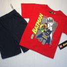 LEGO BATMAN Boy&#39;s Size 6 Shorts, T-Shirt Set, Outfit, NEW