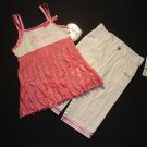 XOXO Girl's Size 12 Months Pink Tunic, Pants Outfit, NEW