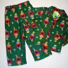 SESAME STREET Boys 4T ELMO Winter Theme Pajama Set, NEW
