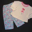 JUST ONE YEAR Girl's 2T BALLERINA Pajama Set, NEW