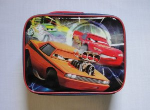 DISNEY PIXAR CARS Insulated Lunch Bag, NEW