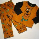 SCOOBY-DOO Boy's Size 4 Fleece Pajama Set, New without tags