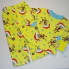 NICKELODEON SPONGEBOB SANTA 4T Fleece Pajama Set, NEW