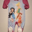 DISNEY TINKERBELL FAIRIES 18 M Fleece Footed Sleeper