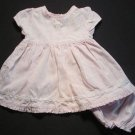 YOUNGLAND Girls 3-6 Months Summer Dress Set, EUC