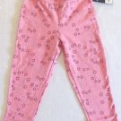 SONOMA Girls 3T Pink Floral and Butterfly Leggings NEW