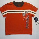 SONOMA Boy's 18 M Short-Sleeved Shirt, FOOTBALL, NEW