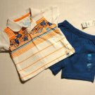 CHILDREN'S PLACE Boy's 0-3 M Shorts Outfit, NEW, NWT