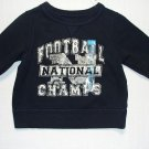 CHILDREN'S PLACE Boys 6-9 Months Football Sweatshirt, NEW