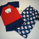 ME AND MY TEDDY Boy's 2T 3-Piece Pajama Set, NEW